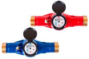 Счетчики воды многоструйники, сухоходы, холодная и горячая вода