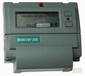 Счетчик электричества Меркурий 200