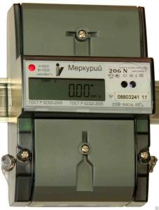 Электросчетчик Меркурий 206